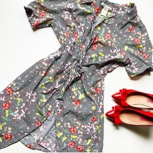 A. CALIN FLYING TOMATO Floral Dress❤️